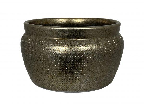 Marrakesh schaal goud zilver