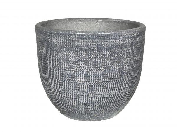 Stockholm pot zilvergrijs productfoto