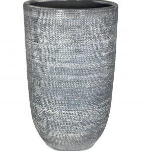 Stockholm vaas zilvergrijs 70 cm