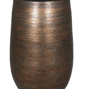 Tokio vaas koper bruin 40 cm
