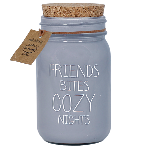 GEURKAARS - FRIENDS BITES COZY NIGHTS - GEUR: WARM CASHMERE EUR: FIG'S DELIGHT