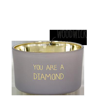GEURKAARS - YOU ARE A DIAMOND productfoto vooraanzicht