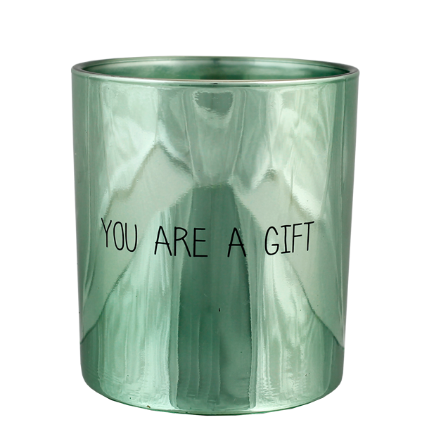 GEURKAARS GLAMOUR - YOU ARE A GIFT - GEUR: MINTY BAMBOO