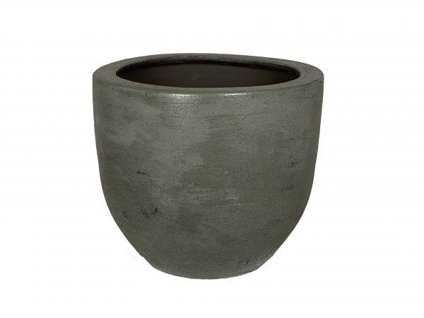 Alaska pot staalblauw productfoto vooraanzicht