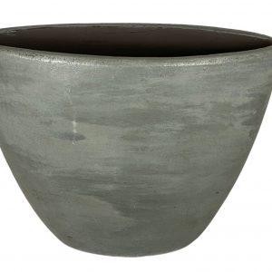 Alaska ovale pot staalblauw hoog 960749 poductfoto