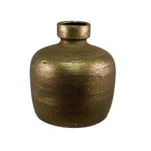 Miami fles goud productfoto vooraanzicht